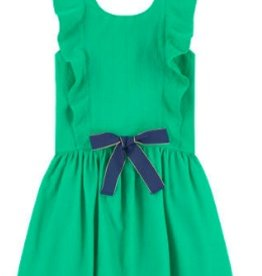 Catimini Green Flounce Dress