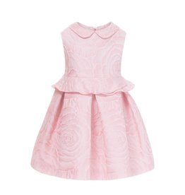 Patachou Jacquard Roses Dress