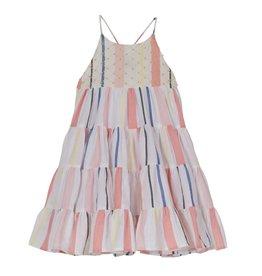 Velveteen Lara Striped Dress