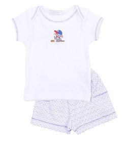 Magnolia Baby Little Slugger Short Set