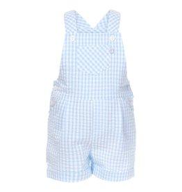 Patachou Blue Check Shortall