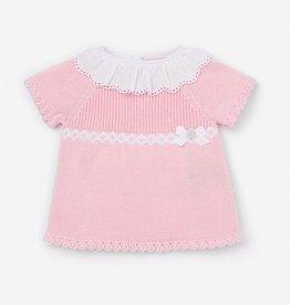 paz rodriguez Pink Oceano Knit Set