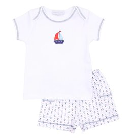 Magnolia Baby Set Sail Short Set