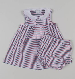 Kissy Kissy Nautical Blues Dress