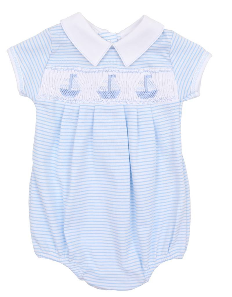Magnolia Baby Blue Sailboats Bubble