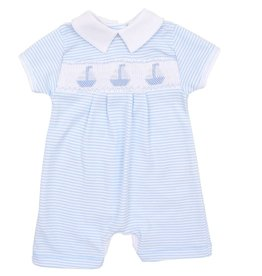 Magnolia Baby Blue Sailboats Playsuit