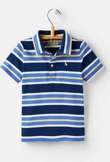 Navy Stripe Polo