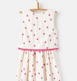 Strawberry Spot Dress