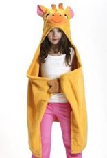 zoocchini Girls' Hooded Towel