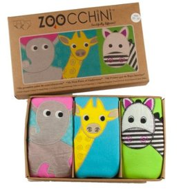 zoocchini Girl's Training Pants Set Safari 3-4Y