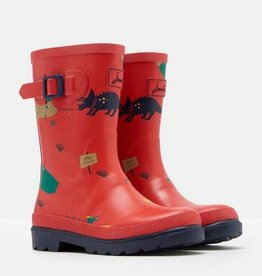 Red Dino Baby Wellies