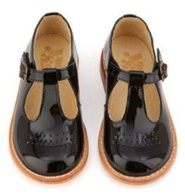 Young Soles Dottie Black Patent