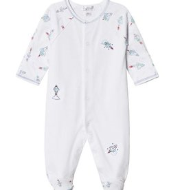 Kissy Kissy Baby Boy Rocket Print Footie