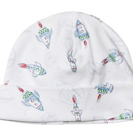 Kissy Kissy Baby Boy Rocket Print Hat