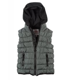Appaman Grey Apex Puffer Vest