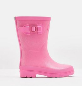 Pink Glitter Jr. Wellies