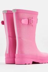 Pink Glitter Jr. Wellies