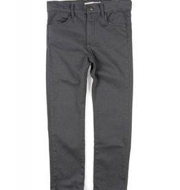 Appaman Skinny Twill Pant Charcoal Grey