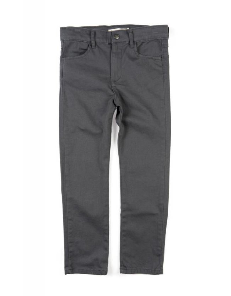 Appaman Skinny Twill Pant Charcoal
