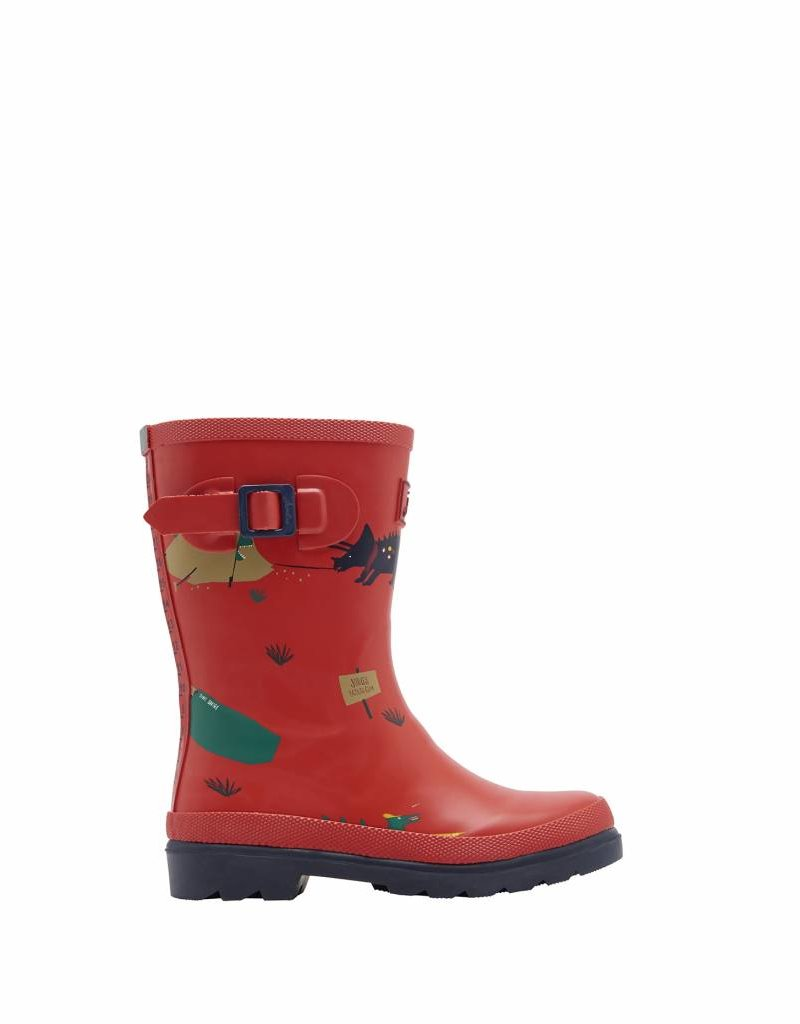 Red Dino Jr. Wellies