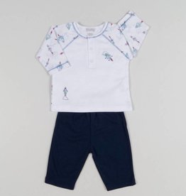 Kissy Kissy Baby Boy Rocket Print Pant Set