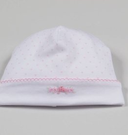 Kissy Kissy Rose Heart Embroidered Hat