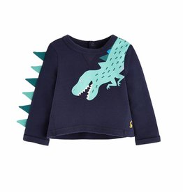 Navy Dinosaur Tee