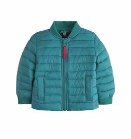 Green Herringbone Jacket