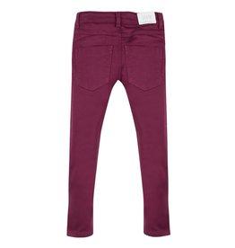 Burgundy Jean Fleece Trousers