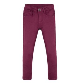Red Burgundy Jean Fleece Trousers
