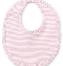 Kissy Kissy Stripe Bib Pink