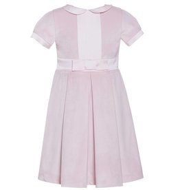 Patachou Pink Velvet Dress