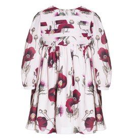 Patachou Pink Floral Crepe Dress