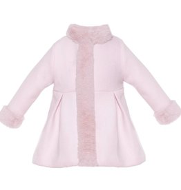 Patachou Pink Woven Coat