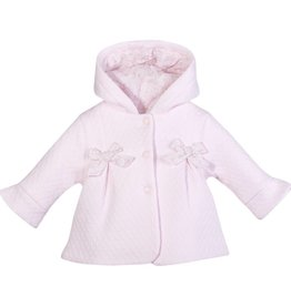 Patachou Pink Quilted Coat
