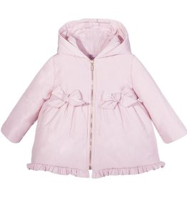 Patachou Pink Bows & Ruffles Coat