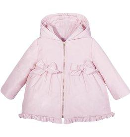 Patachou Pink Bows & Ruffles Coat