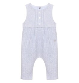 Patachou Blue Knit Romper