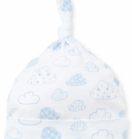 Kissy Kissy Blue Cloud Print Hat