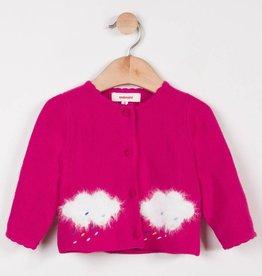 Catimini Pink Cloud Cardigan