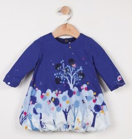Catimini Blue Bubble Dress