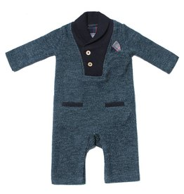 Fore Axel & Hudson Green Terry Romper