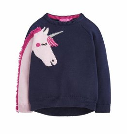 Navy Unicorn Sweater