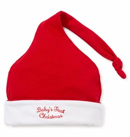 Kissy Kissy Red & White 1st Christmas Stocking Hat