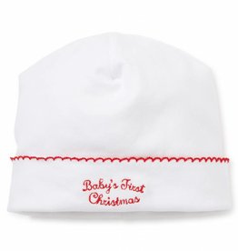 Kissy Kissy White & Red 1st Christmas Hat