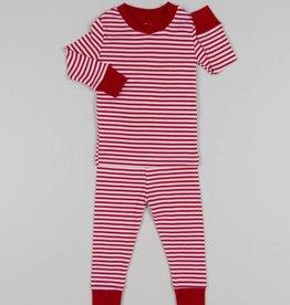 Kissy Kissy Red Stripe Pajama Set
