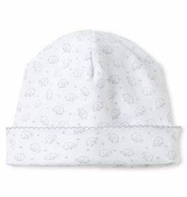 Kissy Kissy White & Grey Elephant Hat