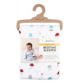 Bebe Au Lait Muslin Bedtime Sleeper - Bowler