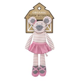 "Farm Buddies Ballerina Mouse - 14"" Plush"