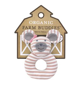 Farm Buddies Ballerina Mouse - Rattle